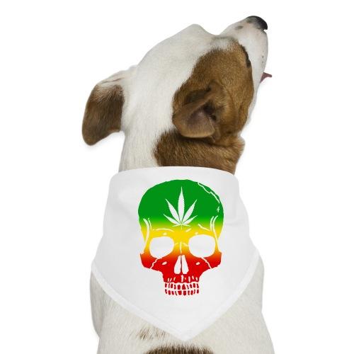 Cráneo Cannabis - Pañuelo bandana para perro