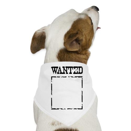 Wanted $ Boarder Frame Rahmen -> zum einschreiben - Hunde-Bandana