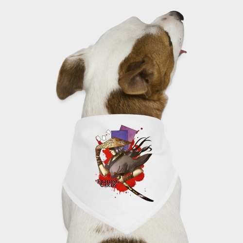 Fighting cards - Guerrier - Bandana pour chien