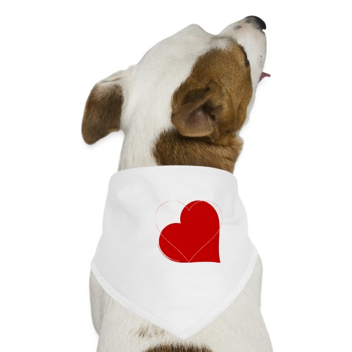 miłość - Bandana dla psa