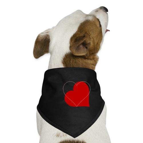 Kærlighed - Bandana til din hund