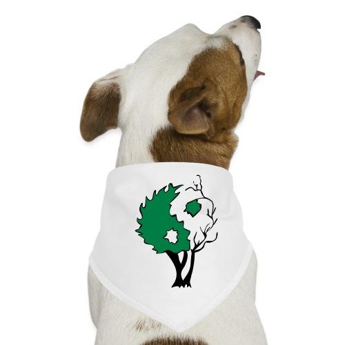 Yin Yang Arbre - Bandana pour chien