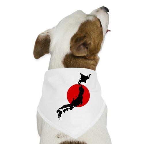 Japan sun - Koiran bandana