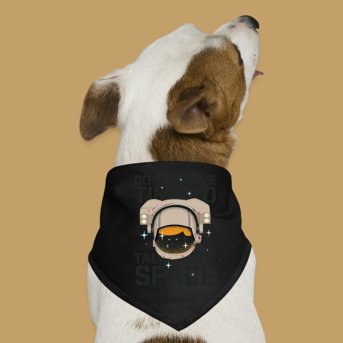 Time for Space - Bandana dla psa