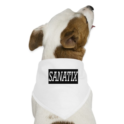 Sanatix logo merch - Dog Bandana