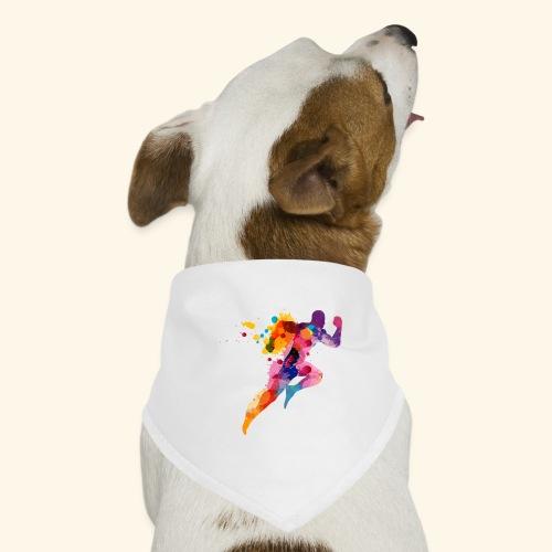 Running colores - Pañuelo bandana para perro