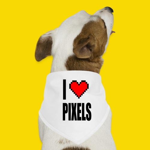 I Love Pixels - Bandana dla psa