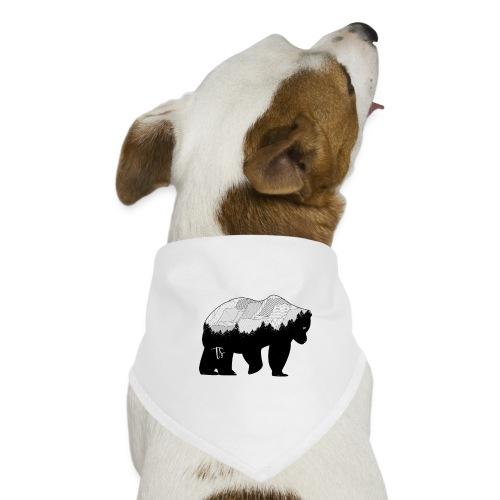 Geometric Mountain Bear - Bandana per cani