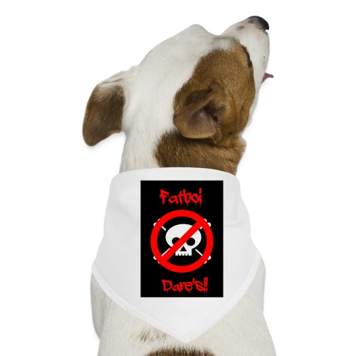 Fatboi Dares's logo - Dog Bandana
