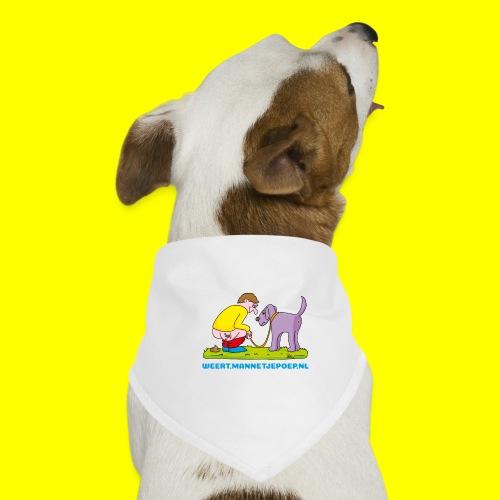Mannetje Poep Illustratie - Honden-bandana