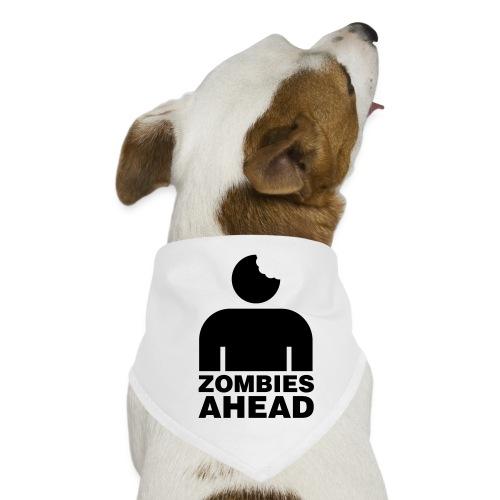 Zombies Ahead - Hundsnusnäsduk