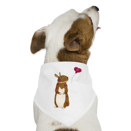Valentine bunny - Dog Bandana