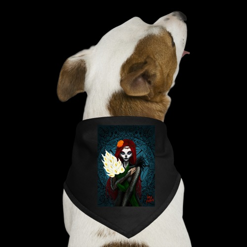 Death and lillies - Dog Bandana