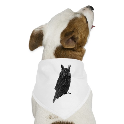 Sitting Owl - Dog Bandana