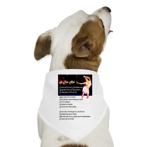 17 A TUU MAI - Bandana pour chien