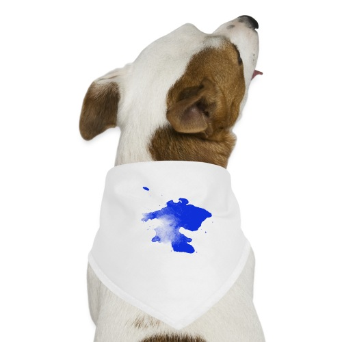 ink splatter - Dog Bandana