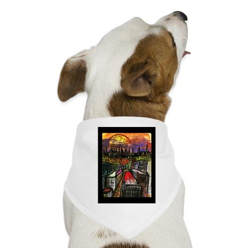 Atardecer - Pañuelo bandana para perro