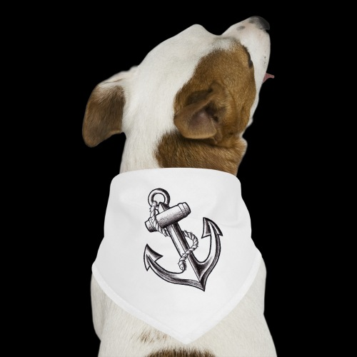 Anchor Tattoo Flash - Bandana per cani