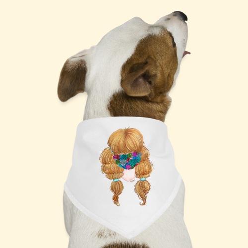 Fille masquée aux succulentes - Bandana pour chien