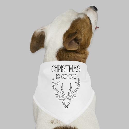 Deer Christmas - Dog Bandana