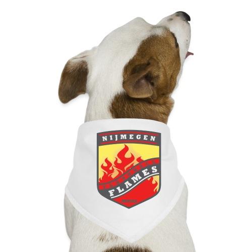 Hoodie Black - Red inner contrast - Honden-bandana