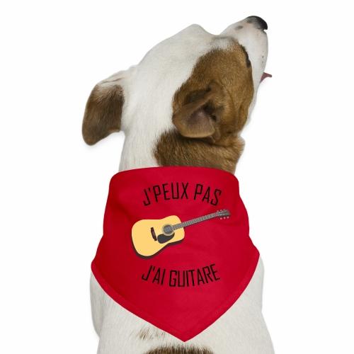J'peux pas j'ai Guitare - Bandana pour chien