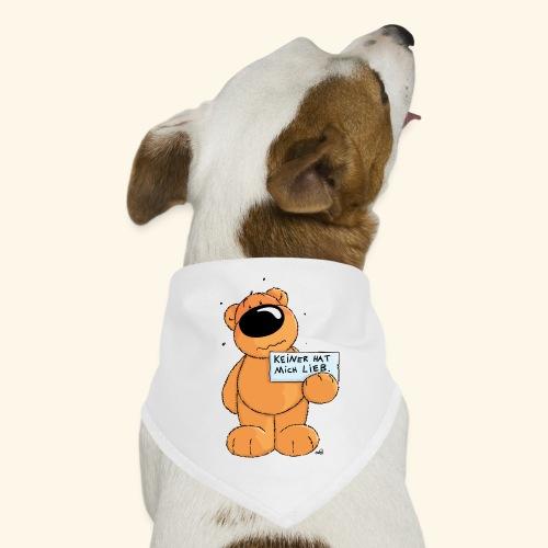 chris bears Keiner hat mich lieb - Hunde-Bandana