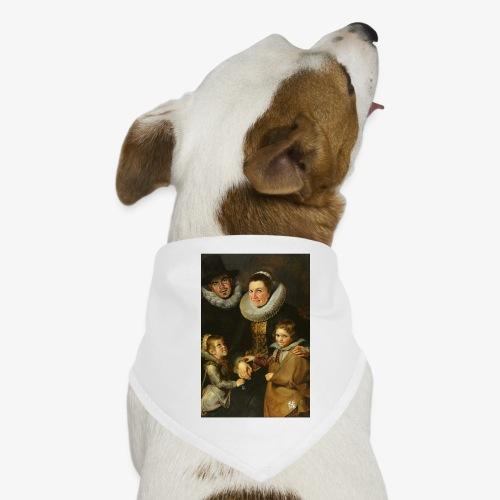 familie-engels2-canvas - Honden-bandana
