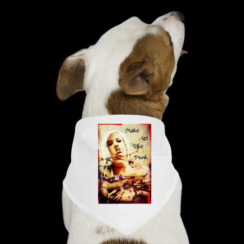 Make Art Like Punk - Bandana pour chien