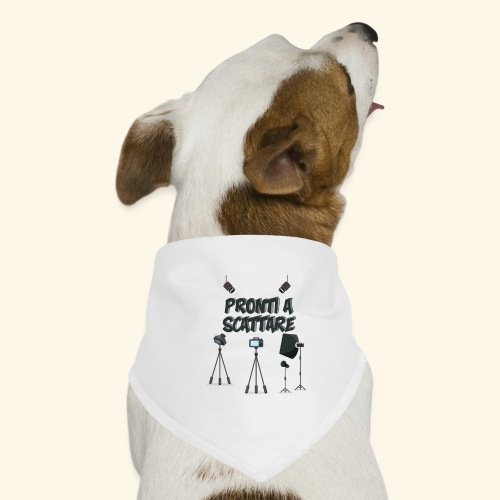 pronti a scattare - Bandana per cani