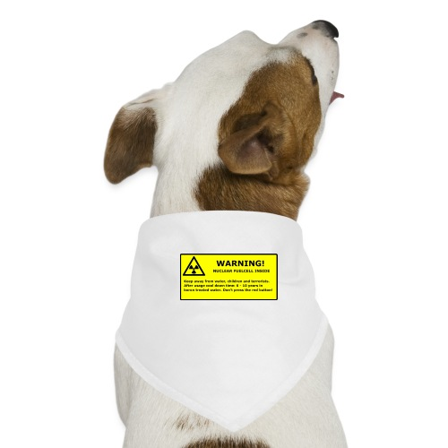 nuclear handy png - Hunde-Bandana