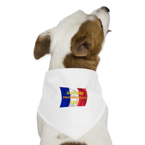 ELECTIONS 2017 - Bandana pour chien