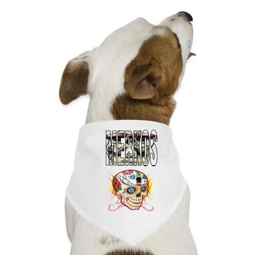 MERKOS CALAVERAS - Pañuelo bandana para perro