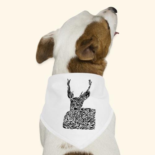 deer black and white - Koiran bandana