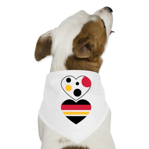 due cuori - Bandana per cani