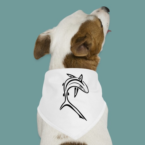 shark_light - Bandana pour chien