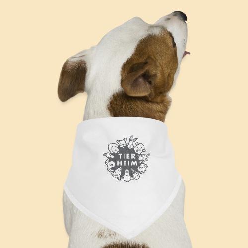 Tierheim Logo gray 75 - Hunde-Bandana