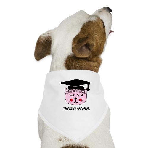 Akademikerin Katze MAGISTRA - Hunde-Bandana