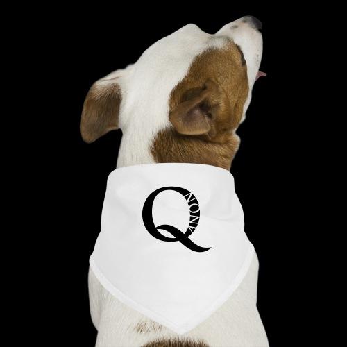 Q Anon Q-Anon Original Logo - Hunde-Bandana