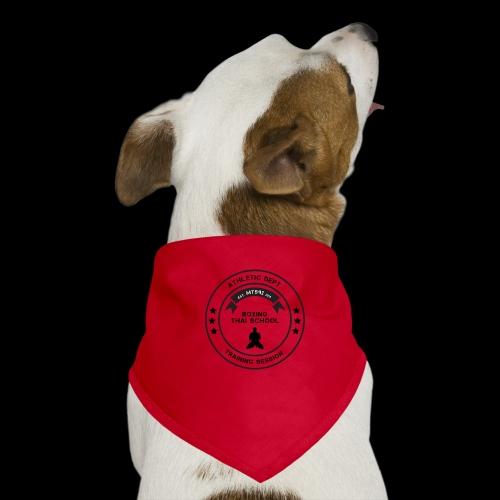MTS92 BOXING THAI SCHOOL ROND - Bandana pour chien