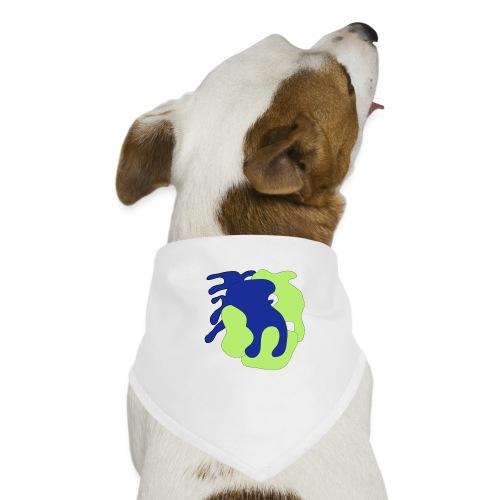 Macchie_di_colore-ai - Bandana per cani