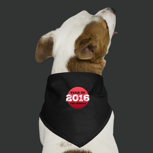 2016 year of the monkey - Dog Bandana