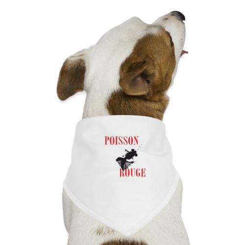 poisson rouge - Bandana pour chien