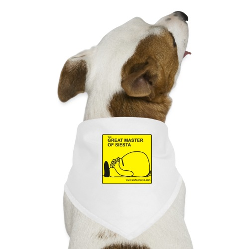 Great Master of Siesta - Dog Bandana