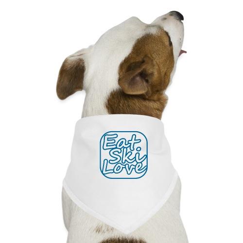 eat ski love - Honden-bandana