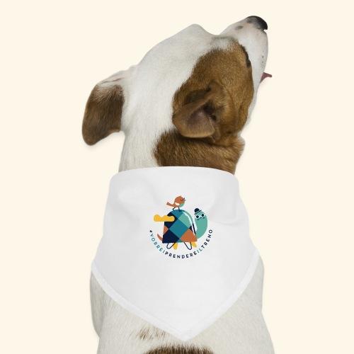 Tartaruga e uccellino - Bandana per cani