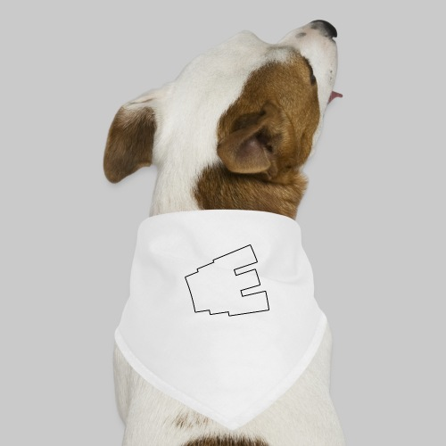 Vit logga - Hundsnusnäsduk