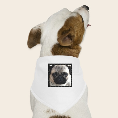 Mops Hund 2 - Hunde-Bandana