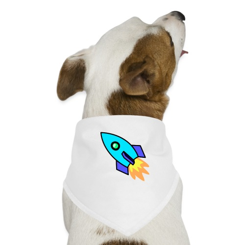 Blue rocket - Dog Bandana