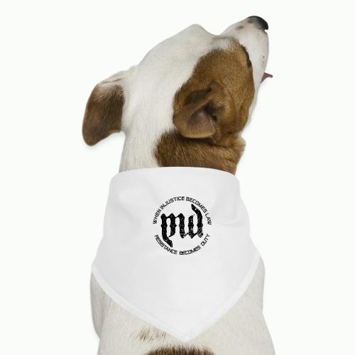 Mass Deception Resistance (black print) - Honden-bandana